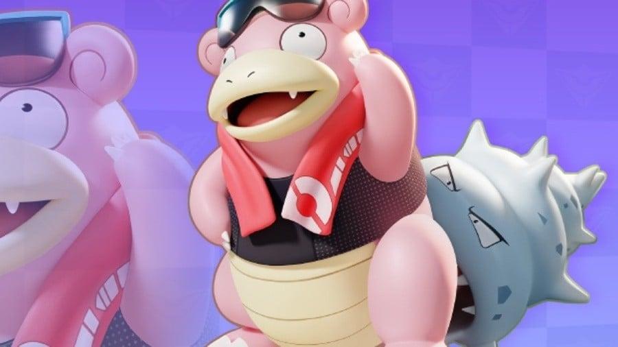 Slowbro Pokemon Unite
