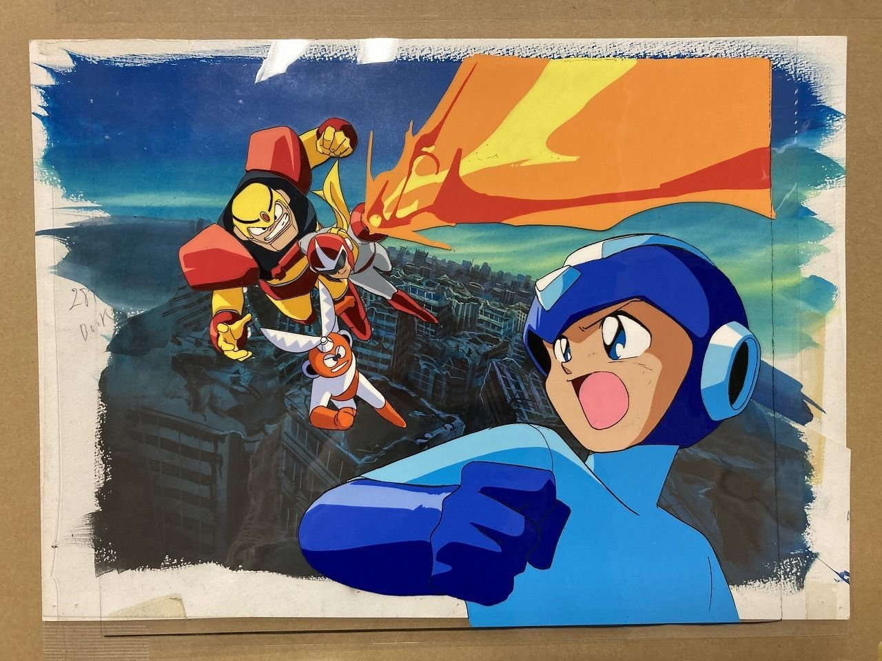 Mega Man Historians Just Bought A Load Of Unreleased Mega Man Art From The '90s