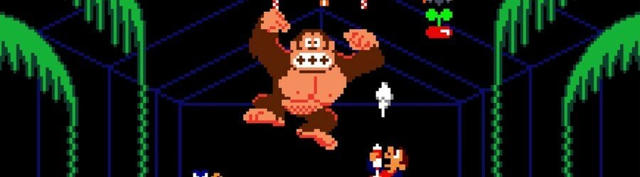 Arcade Archives Donkey Kong 3 (Switch eShop)