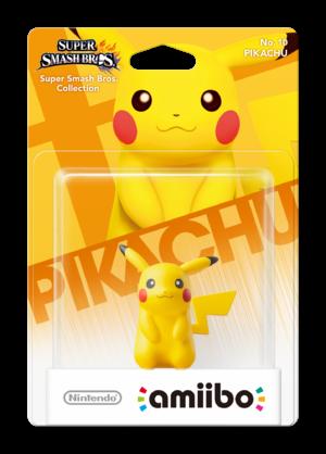Pikachu amiibo Pack