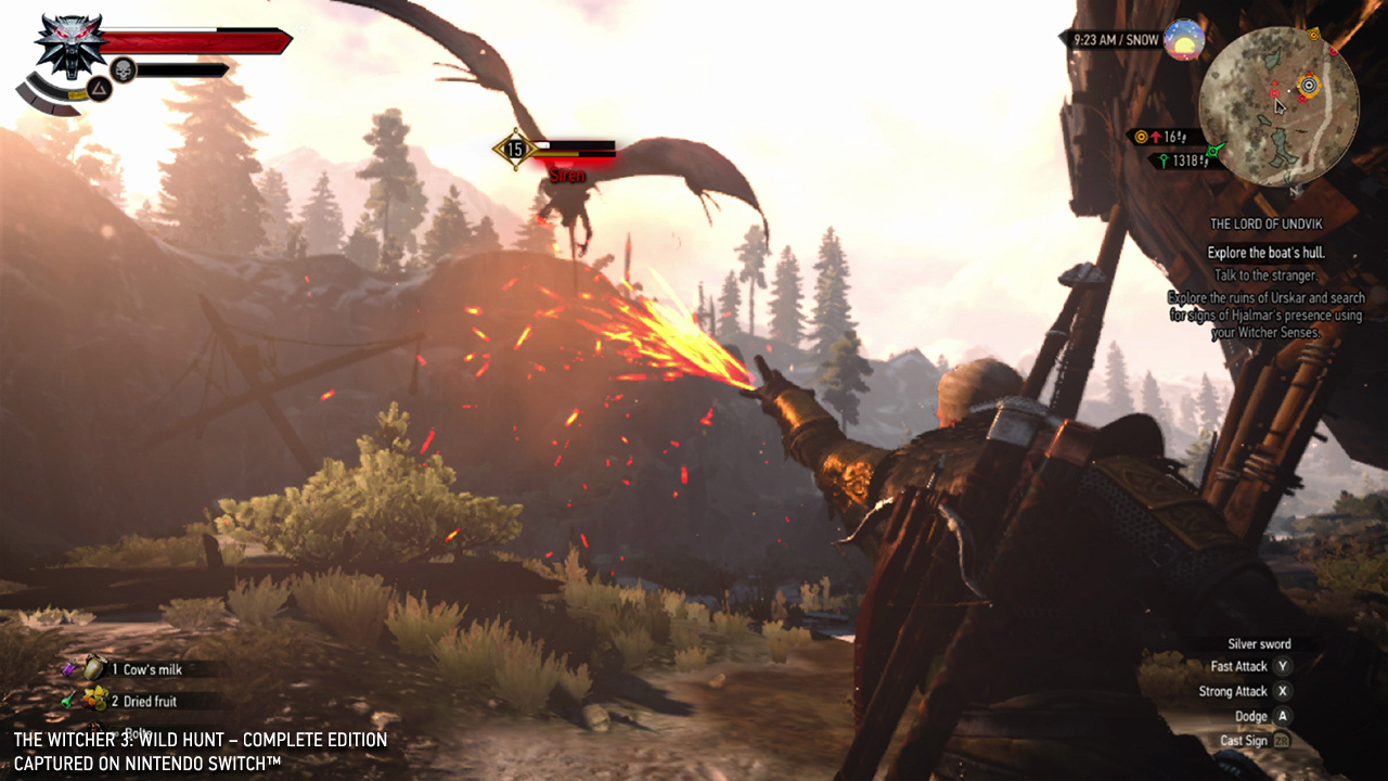 Hands On: We've Played Witcher 3 On Nintendo Switch, And
