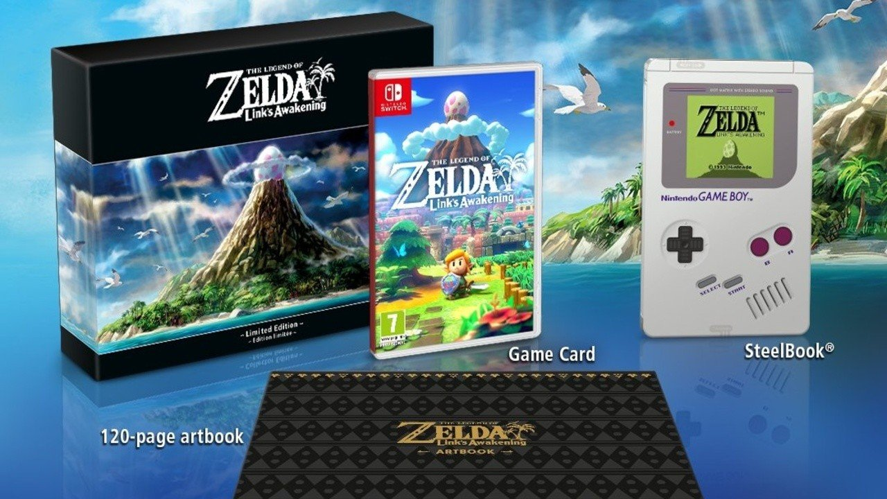 Where To Pre-Order The Legend of Zelda: Link's Awakening