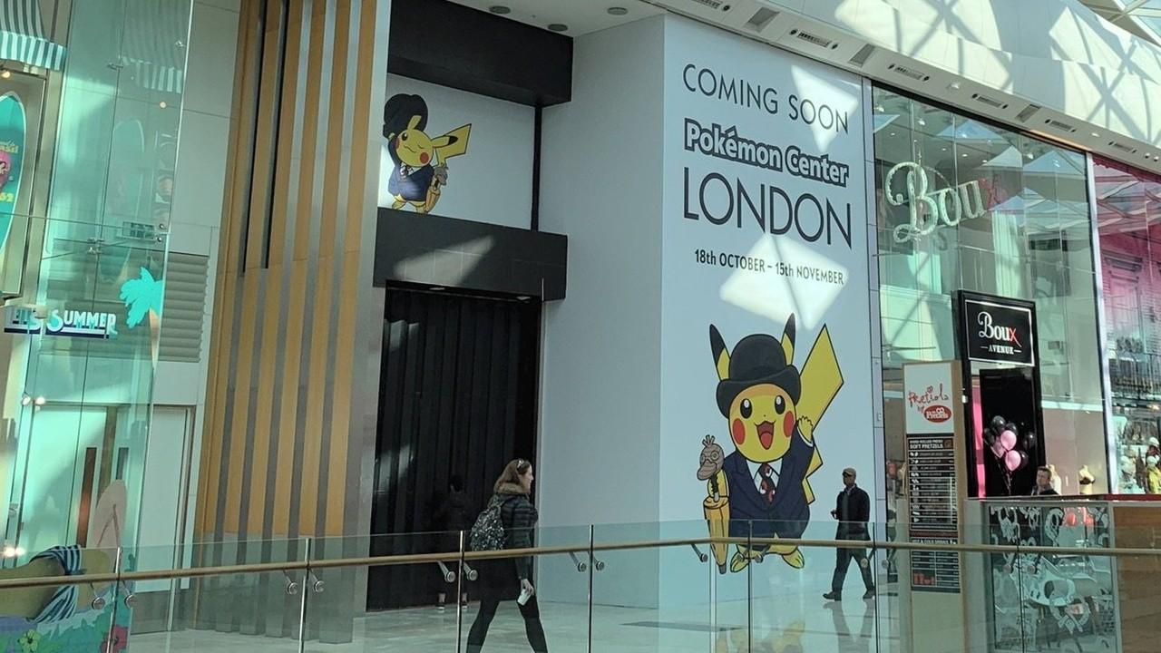 Pokemon Center LONDON - Playmat NEW Official Exclusive London City Pikachu
