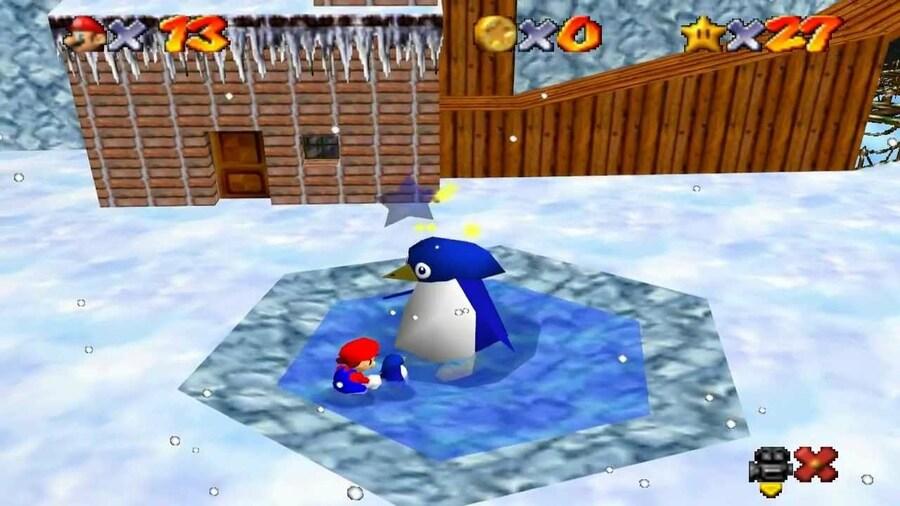 Super Mario 64 - Cool, Cool Mountain (N64)