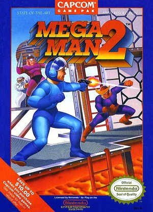 Mega Man 2 might be Mega Man's finest outing, but the boxart is not!