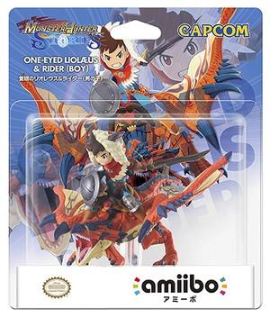 One-Eyed Rathalos & Rider Boy amiibo Pack