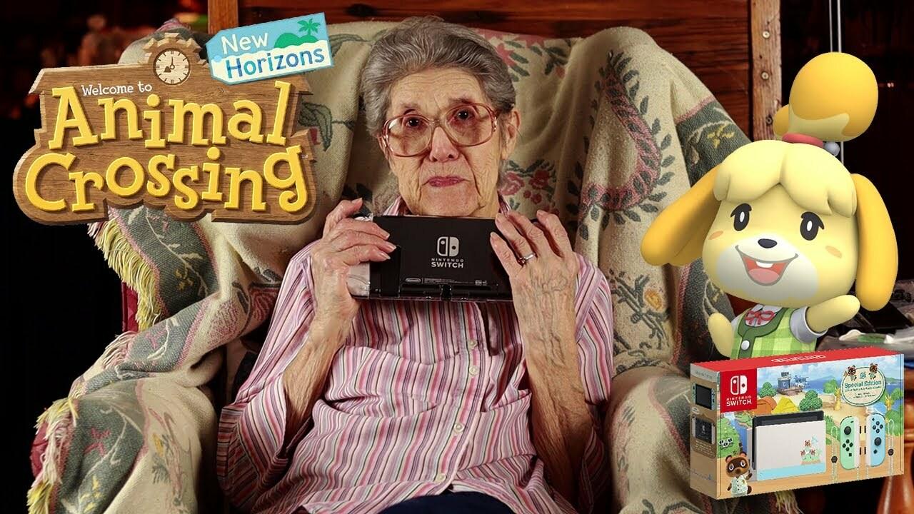 Aleatorio: la abuela Superfan de Animal Crossing recibe un nuevo cambio de Horizontes de edición limitada 54