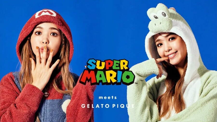Gelato Pique X Nintendo