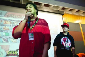 Alex Strife (on the left) at Apex 2012