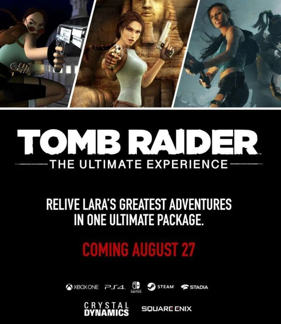Rumour Is A Tomb Raider Collection Coming To Nintendo Switch