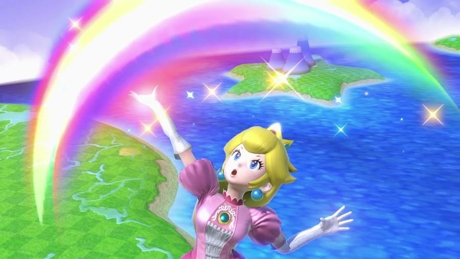 Peach Smash Bros