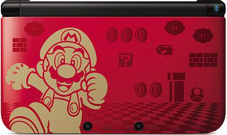 Mario Red 3 DS XL