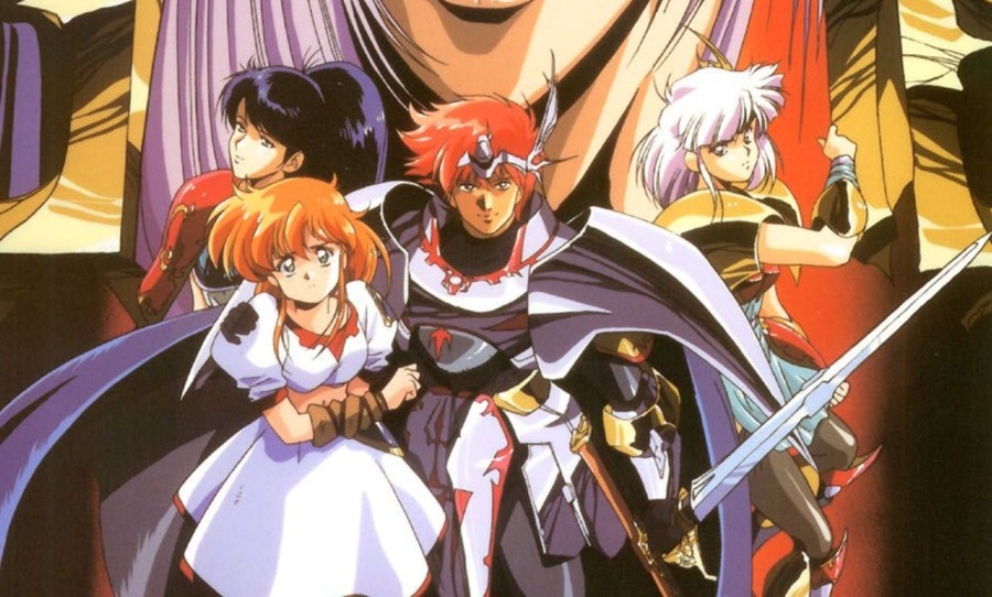 Satoshi Urushihara isn't involved with Langrisser Mobile, but his designs have clearly influenced ZLONGAME's artists. This piece of Urushihara art is taken from Der Langrisser on the PC-FX.