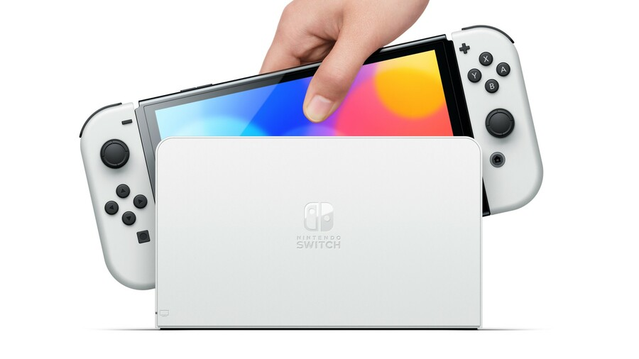 ... and finally, Switch OLED Model