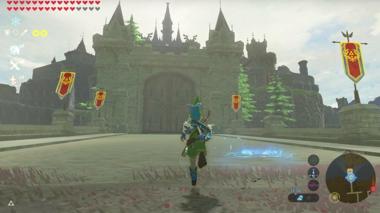 Zelda Modder Performs The Ultimate Renovation On Breath Of The Wild S Hyrule Castle Nintendo Life