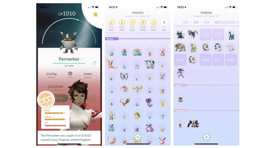 Por fin tenemos Pokémon de la 8va generación en Pokémon GO 2