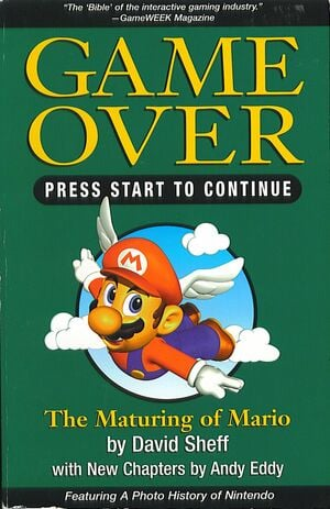 The cover of the 1999 reprint, and the final copy to hit the shelves