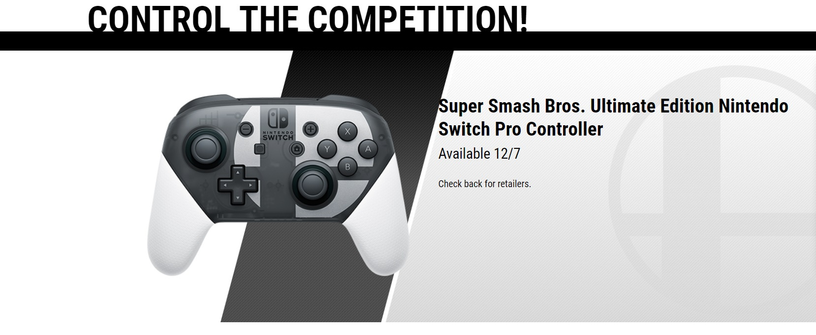 box Only Cooperative Super Smash Bros Ultimate Special Edition Bundle