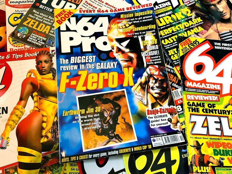 N64 Pro Cover - F-Zero X Review