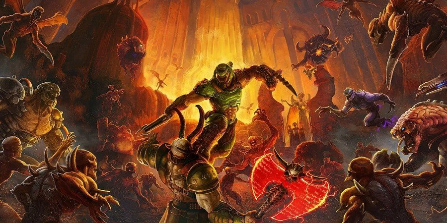 Image result for latest 2020 doom eternalon video games wikipedia
