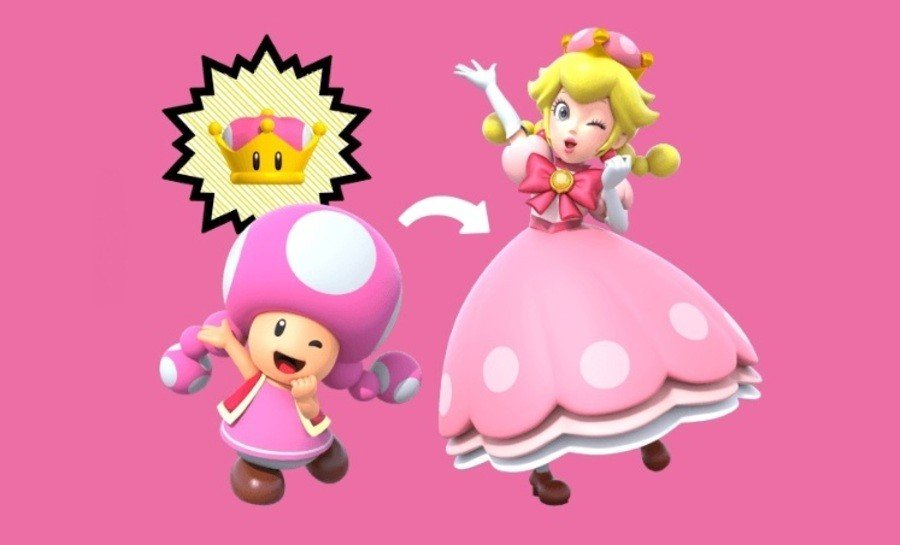 Video Here S What Happens When Peachette Saves Peach In New Super