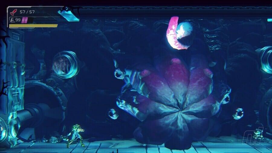 Metroid Dread Drogyga Boss Battle