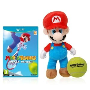 Mario Tennis comes with Mario and tennis