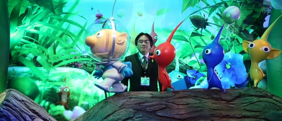 Iwata E3 Pikmin