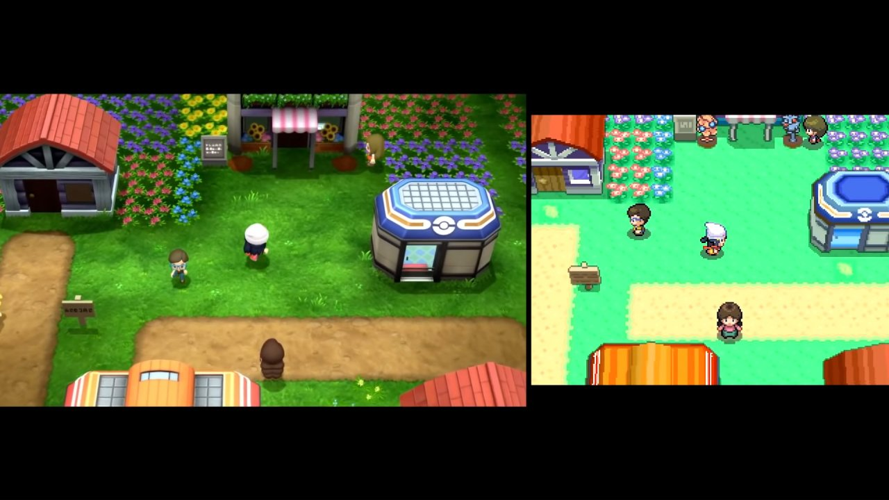 Video: Check Out This Side-By-Side Comparison Of Pokémon Diamond And Pearl On Switch And DS
