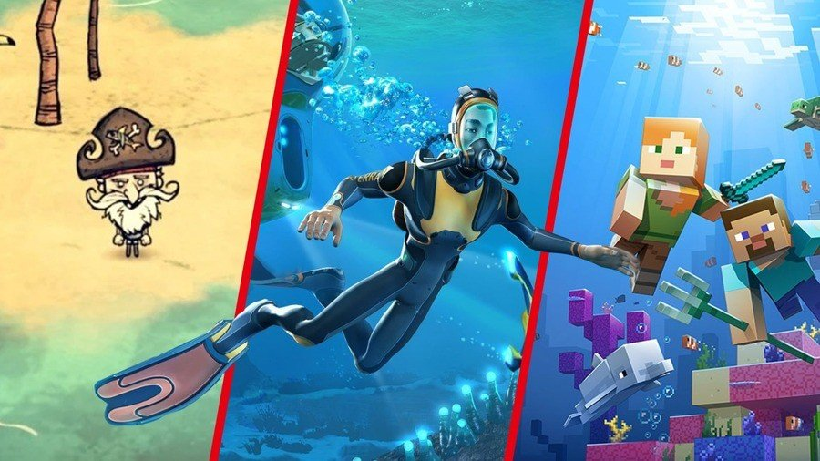Best Survival Games on Switch: Minecraft And Subnautica