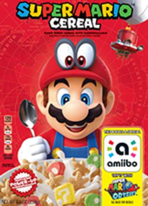 Super Mario Cereal amiibo Pack