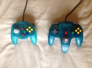 In comparison to the Nintendo's official N64 controller, the N64 Hori Mini Pad is quite small