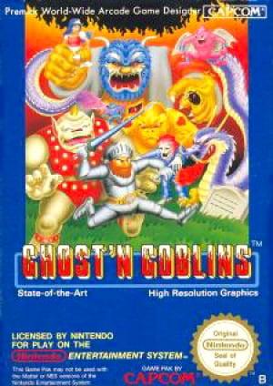 Ghosts 'n Goblins Cover Artwork