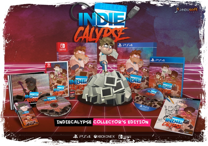 Indiecalypse Is A Video Game All About Indie Developers Making A Video Game