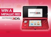 Win a Metallic Red 3DS!