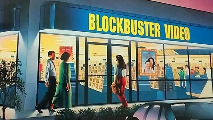 Blockbuster Storefront