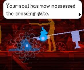 Ghost Trick screenshot: Sissel has a door