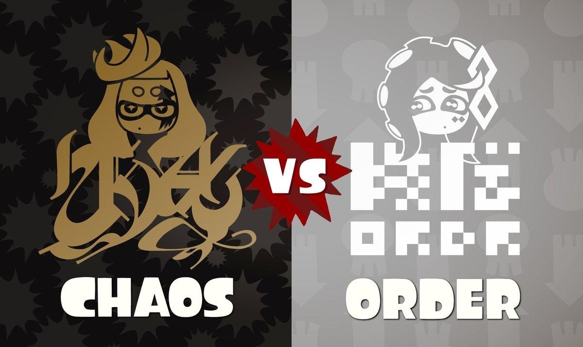Nintendo Announces Splatoon 2's Final Splatfest, Chaos Vs. Order