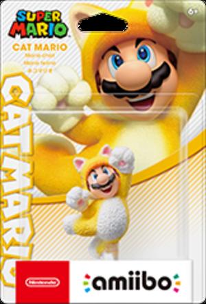 Cat Mario amiibo Pack