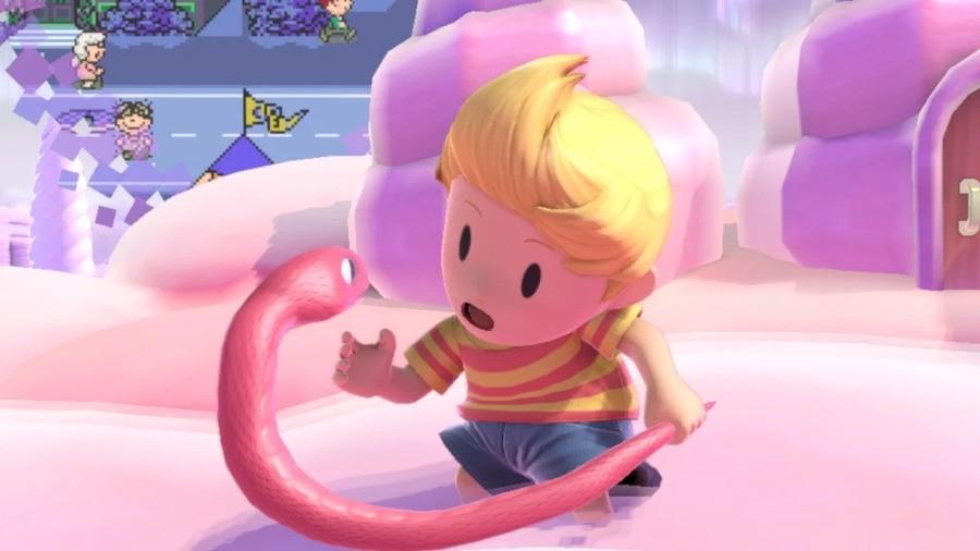 Lucas as seen in Super Smash Bros Ultimate (2018)