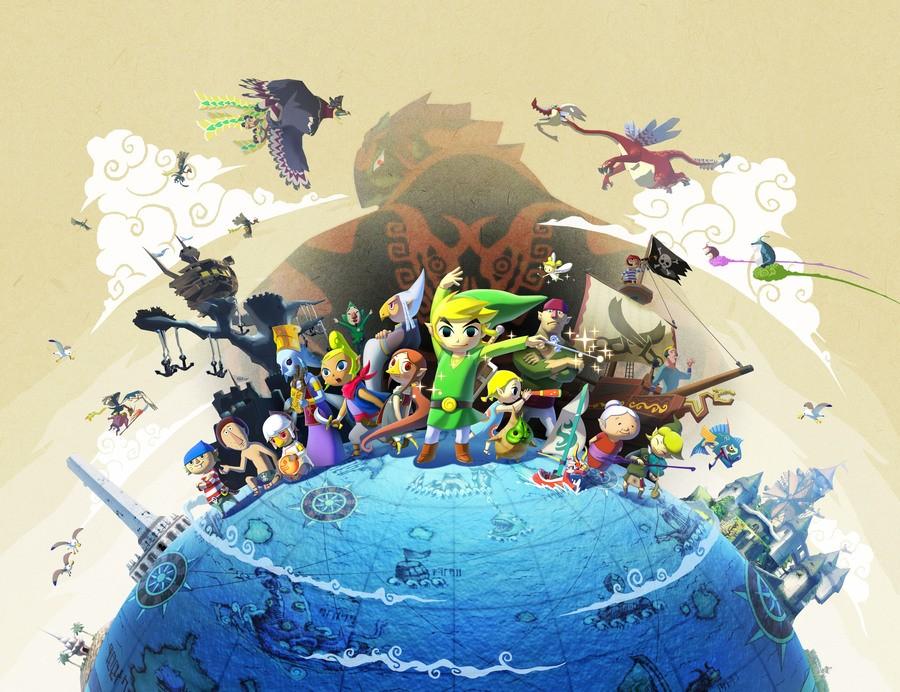 The Legend of Zelda: Wind Waker HD Japanese Artwork