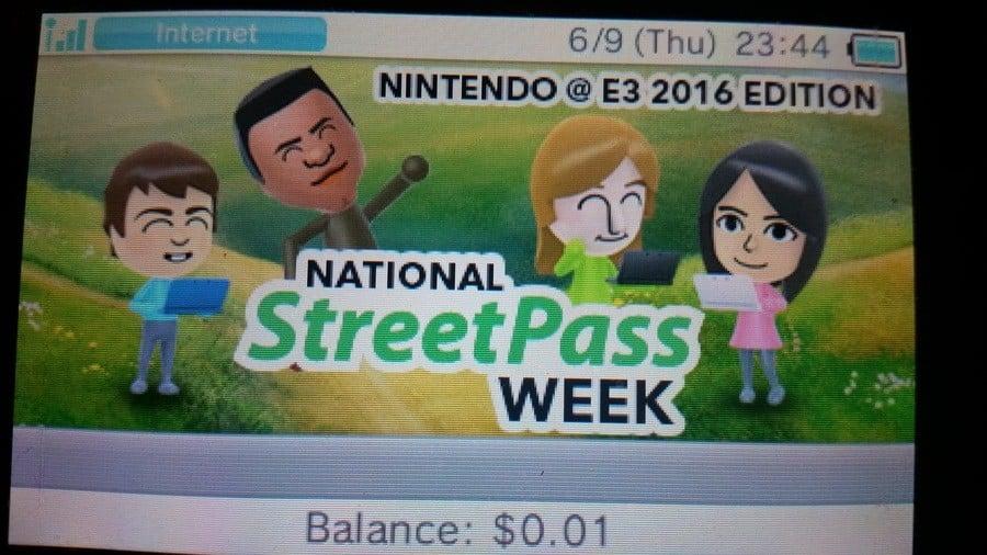 National StreetPass Week: E3 Edition