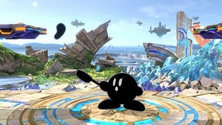 26. Mr. Game & Watch Kirby