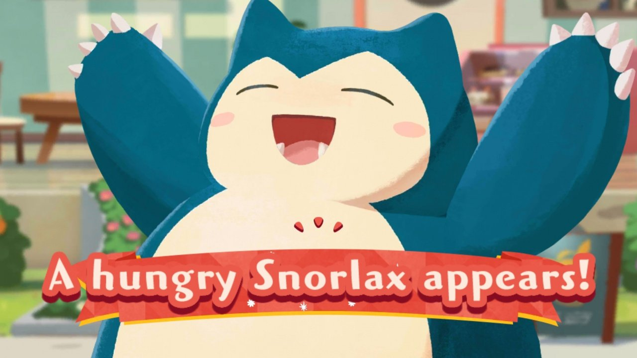 Pokémon Café Mix Adds New Co-Op Team Event And A Very Hungry Snorlax