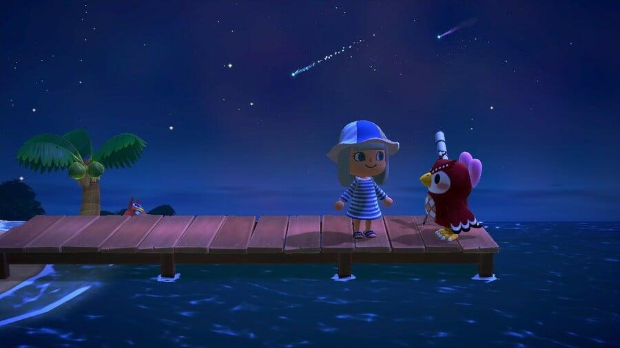 Celeste On Dock