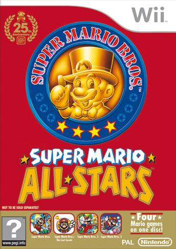 Super Mario All-Stars 25th Anniversary Edition (Wii) Game