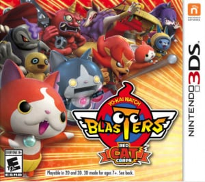 Yo-Kai Watch Blasters: Red Cat Corps & White Dog Squad