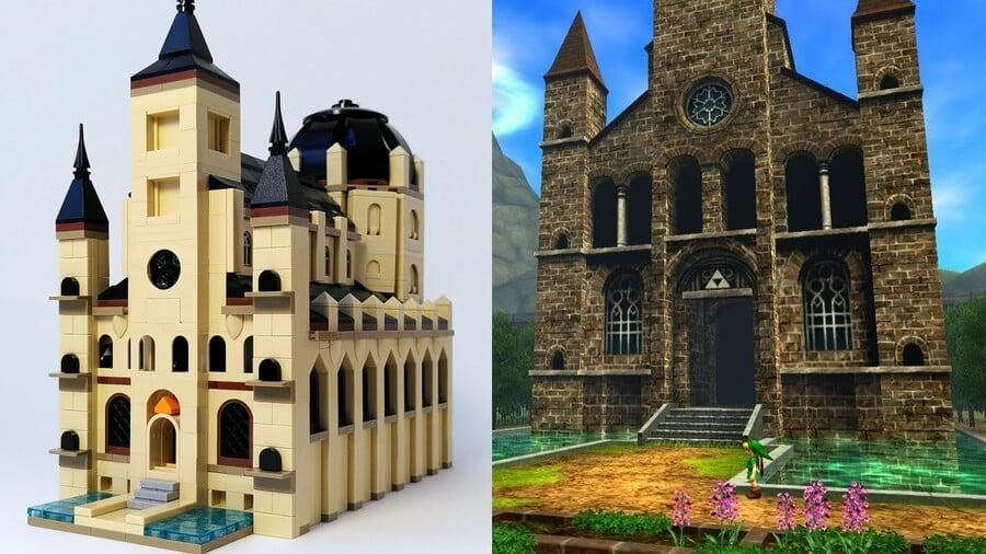 Ocarina of Time in LEGO
