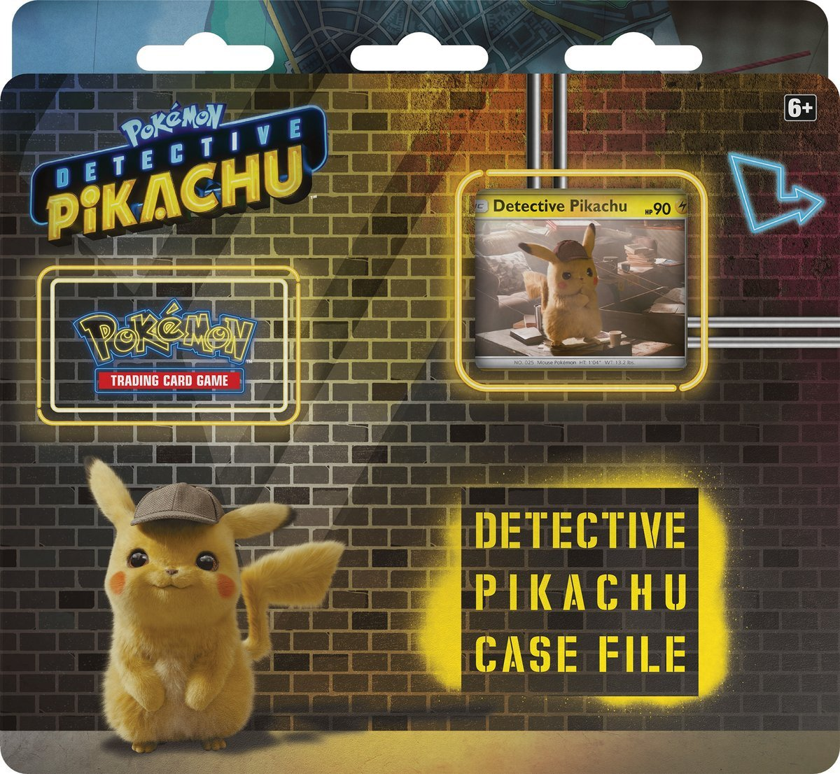 Here S Your First Look At The Special Detective Pikachu Pokémon Card