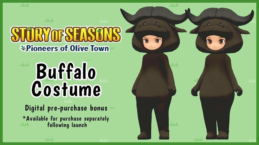 XSEED Buffalo Costume